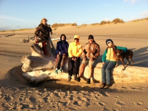 The Missoula troupe visits Bandon...