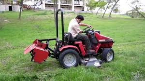 Honda 5013 with mower deck